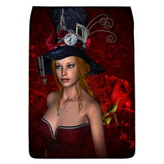Beautiful Fantasy Women With Floral Elements Flap Covers (s)  by FantasyWorld7