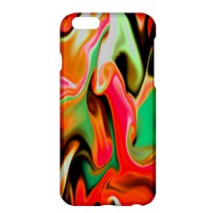 Catch The Waves Smoky Red Orange Haze  Apple Iphone 6 Plus/6s Plus Hardshell Case by flipstylezdes