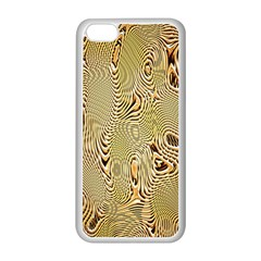 Pattern Abstract Art Apple Iphone 5c Seamless Case (white) by Nexatart
