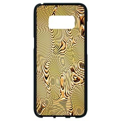 Pattern Abstract Art Samsung Galaxy S8 Black Seamless Case