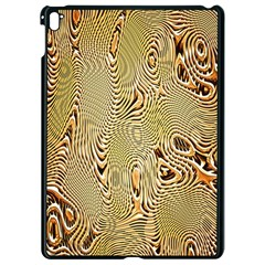Pattern Abstract Art Apple Ipad Pro 9 7   Black Seamless Case by Nexatart