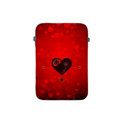 Wonderful Heart On Vintage Background Apple Ipad Mini Protective Soft Cases by FantasyWorld7