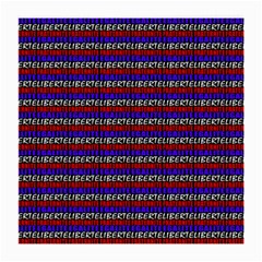 French Revolution Typographic Pattern Design 2 Medium Glasses Cloth (2-side) by dflcprints