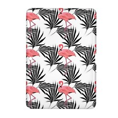 Pink Flamingos Palmetto Fronds Tropical Pattern Samsung Galaxy Tab 2 (10 1 ) P5100 Hardshell Case  by CrypticFragmentsColors