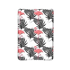 Pink Flamingos Palmetto Fronds Tropical Pattern Ipad Mini 2 Hardshell Cases by CrypticFragmentsColors