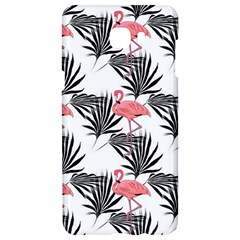 Pink Flamingos Palmetto Fronds Tropical Pattern Samsung C9 Pro Hardshell Case