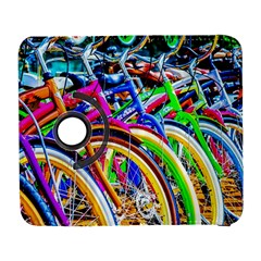 Colorful Bicycles In A Row Samsung Galaxy S  Iii Flip 360 Case by FunnyCow