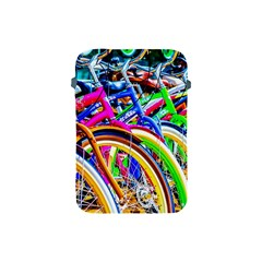 Colorful Bicycles In A Row Apple Ipad Mini Protective Soft Cases by FunnyCow