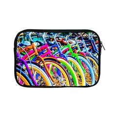 Colorful Bicycles In A Row Apple Ipad Mini Zipper Cases by FunnyCow