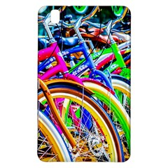 Colorful Bicycles In A Row Samsung Galaxy Tab Pro 8 4 Hardshell Case