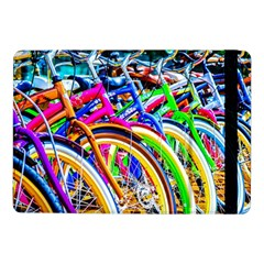 Colorful Bicycles In A Row Samsung Galaxy Tab Pro 10 1  Flip Case by FunnyCow