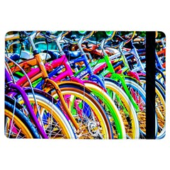 Colorful Bicycles In A Row Ipad Air Flip by FunnyCow