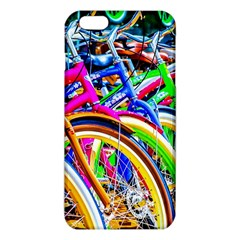 Colorful Bicycles In A Row Iphone 6 Plus/6s Plus Tpu Case by FunnyCow