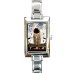 Legend Of The Sky Rectangle Italian Charm Watch by FunnyCow