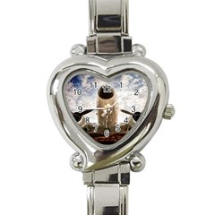 Legend Of The Sky Heart Italian Charm Watch by FunnyCow