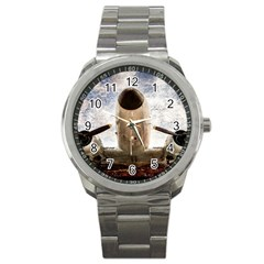 Legend Of The Sky Sport Metal Watch by FunnyCow