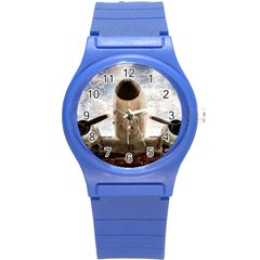 Legend Of The Sky Round Plastic Sport Watch (s) by FunnyCow