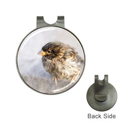 Funny Wet Sparrow Bird Hat Clips With Golf Markers by FunnyCow