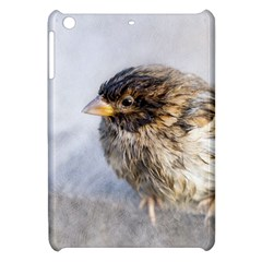 Funny Wet Sparrow Bird Apple Ipad Mini Hardshell Case by FunnyCow