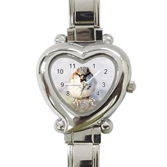 Do Not Mess With Sparrows Heart Italian Charm Watch by FunnyCow