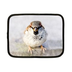 Do Not Mess With Sparrows Netbook Case (small)  by FunnyCow