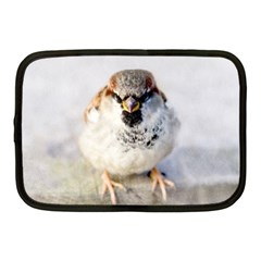 Do Not Mess With Sparrows Netbook Case (medium)  by FunnyCow