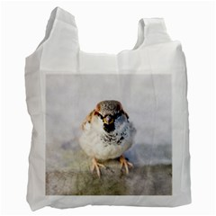 Do Not Mess With Sparrows Recycle Bag (one Side) by FunnyCow
