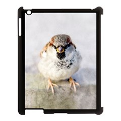 Do Not Mess With Sparrows Apple Ipad 3/4 Case (black) by FunnyCow