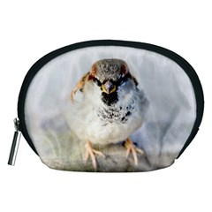 Do Not Mess With Sparrows Accessory Pouches (medium)  by FunnyCow