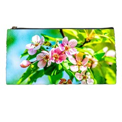 Crab Apple Flowers Pencil Cases by FunnyCow