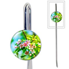 Crab Apple Flowers Book Mark by FunnyCow