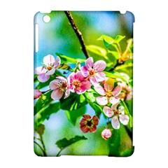 Crab Apple Flowers Apple Ipad Mini Hardshell Case (compatible With Smart Cover) by FunnyCow