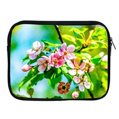 Crab Apple Flowers Apple Ipad 2/3/4 Zipper Cases by FunnyCow