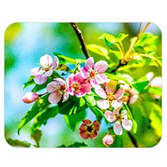 Crab Apple Flowers Double Sided Flano Blanket (medium)  by FunnyCow