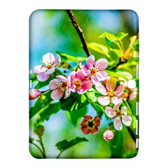 Crab Apple Flowers Samsung Galaxy Tab 4 (10 1 ) Hardshell Case  by FunnyCow