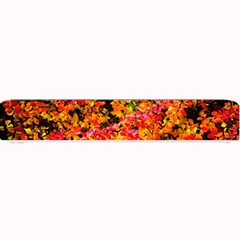 Orange, Yellow Cotoneaster Leaves In Autumn Small Bar Mats by FunnyCow