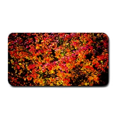 Orange, Yellow Cotoneaster Leaves In Autumn Medium Bar Mats by FunnyCow