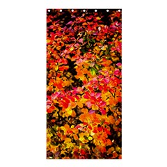Orange, Yellow Cotoneaster Leaves In Autumn Shower Curtain 36  X 72  (stall)  by FunnyCow