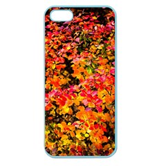 Orange, Yellow Cotoneaster Leaves In Autumn Apple Seamless Iphone 5 Case (color) by FunnyCow