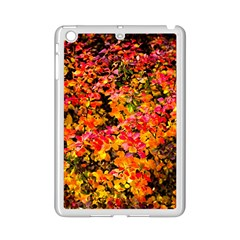 Orange, Yellow Cotoneaster Leaves In Autumn Ipad Mini 2 Enamel Coated Cases by FunnyCow