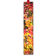 Orange, Yellow Cotoneaster Leaves In Autumn Large Book Marks by FunnyCow