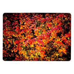 Orange, Yellow Cotoneaster Leaves In Autumn Samsung Galaxy Tab 10 1  P7500 Flip Case by FunnyCow