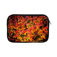 Orange, Yellow Cotoneaster Leaves In Autumn Apple Ipad Mini Zipper Cases by FunnyCow