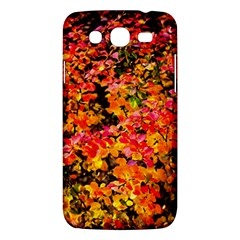 Orange, Yellow Cotoneaster Leaves In Autumn Samsung Galaxy Mega 5 8 I9152 Hardshell Case  by FunnyCow