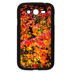 Orange, Yellow Cotoneaster Leaves In Autumn Samsung Galaxy Grand Duos I9082 Case (black) by FunnyCow