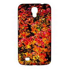 Orange, Yellow Cotoneaster Leaves In Autumn Samsung Galaxy Mega 6 3  I9200 Hardshell Case by FunnyCow
