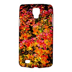 Orange, Yellow Cotoneaster Leaves In Autumn Samsung Galaxy S4 Active (i9295) Hardshell Case by FunnyCow