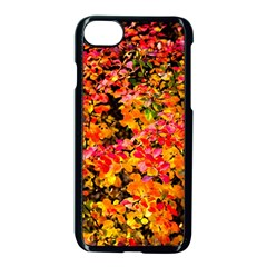 Orange, Yellow Cotoneaster Leaves In Autumn Apple Iphone 8 Seamless Case (black) by FunnyCow