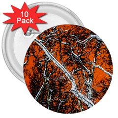 Red Night Of Winter 3  Buttons (10 Pack)  by FunnyCow