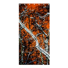 Red Night Of Winter Shower Curtain 36  X 72  (stall)  by FunnyCow